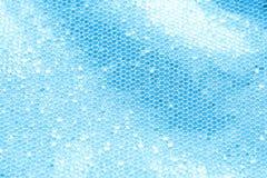 Голубая предпосылка sequin Стоковое фото RF