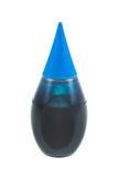 Голубая расцветка еды Стоковая Фотография