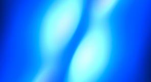 Голубая ровная абстрактная предпосылка, defocused света Стоковое Изображение