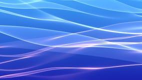 Голубая розовая предпосылка волны Стоковое Фото