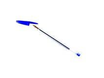 Голубая ручка шариковой авторучки Стоковая Фотография