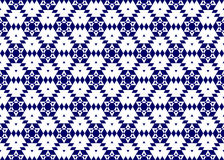 Голубая снежинка картины Стоковое Изображение RF