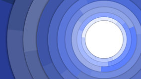 Голубая современная предпосылка конспекта космоса экземпляра кругов Стоковые Изображения RF