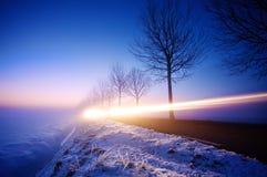 голубая спешка Стоковые Фото