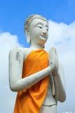голубая статуя неба Будды Стоковые Фото
