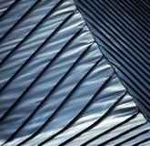 Голубая стальная крыша Стоковое Фото