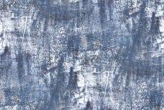 Голубая стена - безшовная предпосылка grunge Стоковая Фотография RF