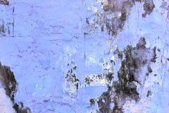 Голубая стена с предпосылкой прессформы Стоковая Фотография