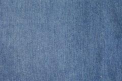 Голубая текстура демикотона джинсовой ткани Стоковая Фотография RF