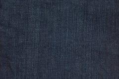 Голубая текстура демикотона джинсовой ткани Стоковая Фотография