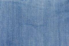 Голубая текстура демикотона джинсовой ткани Стоковое Изображение RF