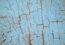 голубая текстура деревянная Стоковые Фото