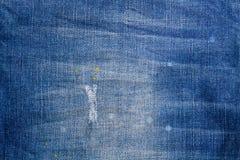 голубая текстура джинсыов джинсовой ткани голубая текстура ткани демикотона Backgr джинсов Стоковые Фотографии RF