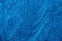 Голубая текстура маникюра стоковые фото