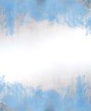 Голубая текстура предпосылки конспекта акварели Стоковые Изображения