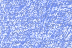 Голубая текстура предпосылки чертежей crayon Стоковое Изображение RF