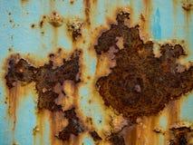 Голубая текстура ржавчины Стоковое Изображение RF