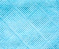Голубая текстура салфетки салфетки Стоковое Фото