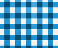 Голубая текстура скатерти Стоковые Фотографии RF