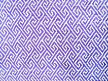 Голубая текстура ткани полиэстера Стоковое Изображение