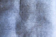 Голубая текстура ткани Стоковые Фото