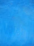 Голубая текстура цемента Стоковая Фотография