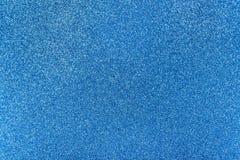 Голубая текстура яркого блеска Стоковая Фотография
