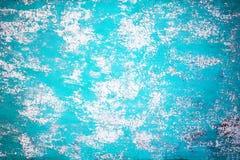 Голубая текстура grunge, огорченная предпосылка Текстурированная стена с s Стоковые Фото