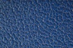 Голубая текстурированная текстура кожи Стоковые Фото