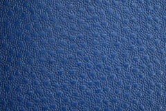 Голубая текстурированная текстура кожи Стоковая Фотография