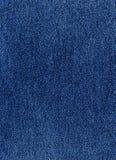 голубая темная джинсовая ткань Стоковое Изображение