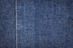 голубая темная текстура джинсыов Стоковые Фото