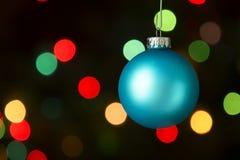 голубая тень орнамента иллюстрации цветка рождества Стоковая Фотография RF