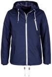Голубая теплая куртка Стоковые Фотографии RF