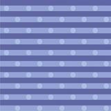 Голубая ткань с точками Стоковое Фото