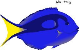 голубая тянь Стоковые Фото