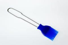 Голубая щетка печенья и жаркого Стоковые Изображения RF