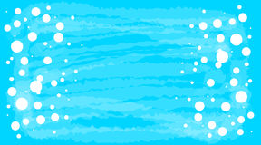 Голубое абстрактное знамя Стоковые Фотографии RF