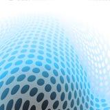 Голубое абстрактное современное Бесплатная Иллюстрация