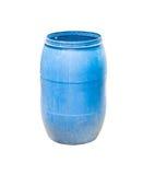 голубое ведро Стоковая Фотография