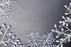 голубое волшебство рамки рождества Стоковые Фото