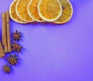 голубое волшебство рамки рождества Стоковая Фотография RF