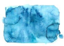 Голубое грязное пятно Стоковые Фото