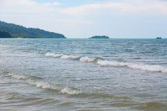 голубое глубокое море Стоковое фото RF