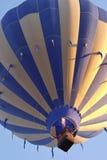 Голубое летание выше Стоковое Изображение