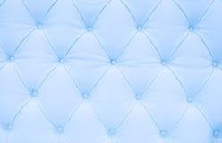 голубое кожаное драпирование Стоковые Изображения