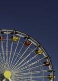 голубое колесо неба ferris Стоковое Фото