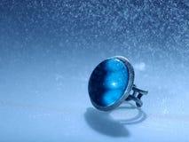Голубое кольцо космоса Стоковое фото RF