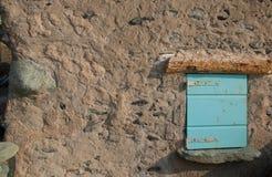 голубое малое окно Стоковое Фото