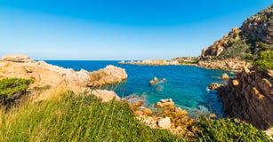 голубое море Сардинии Стоковое фото RF